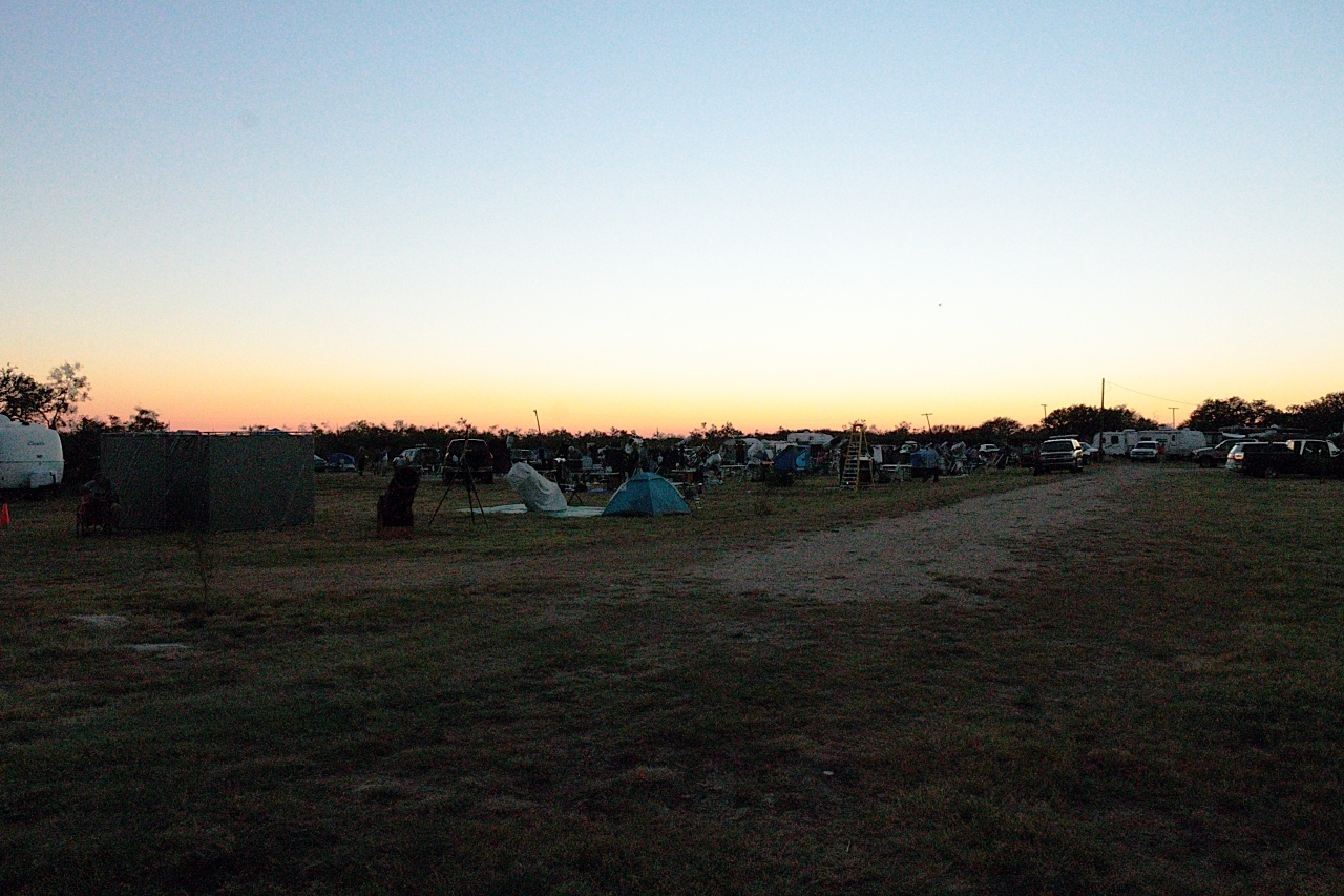 Friday's Observing Field