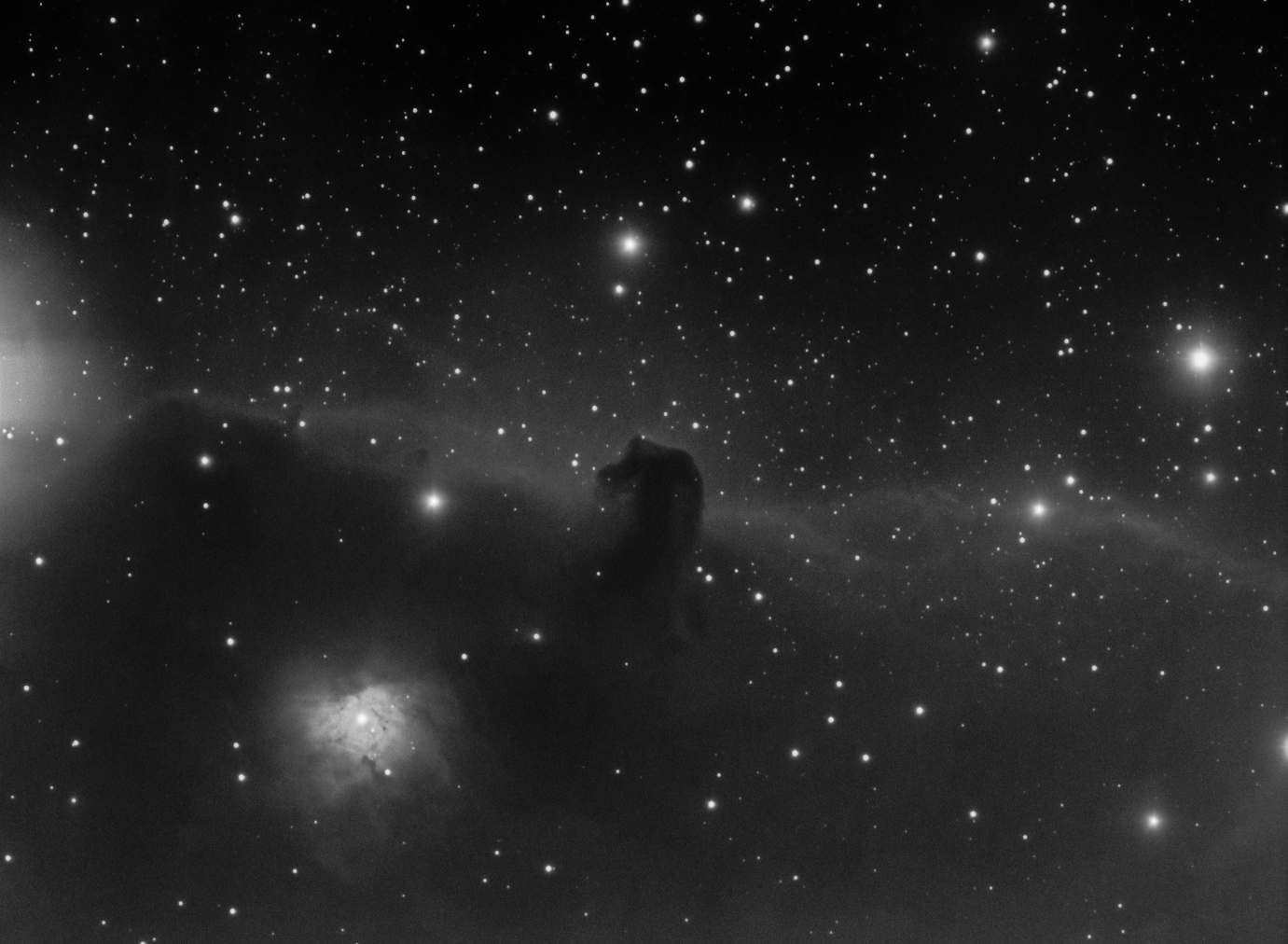 The Horsehead Nebula (IC434)