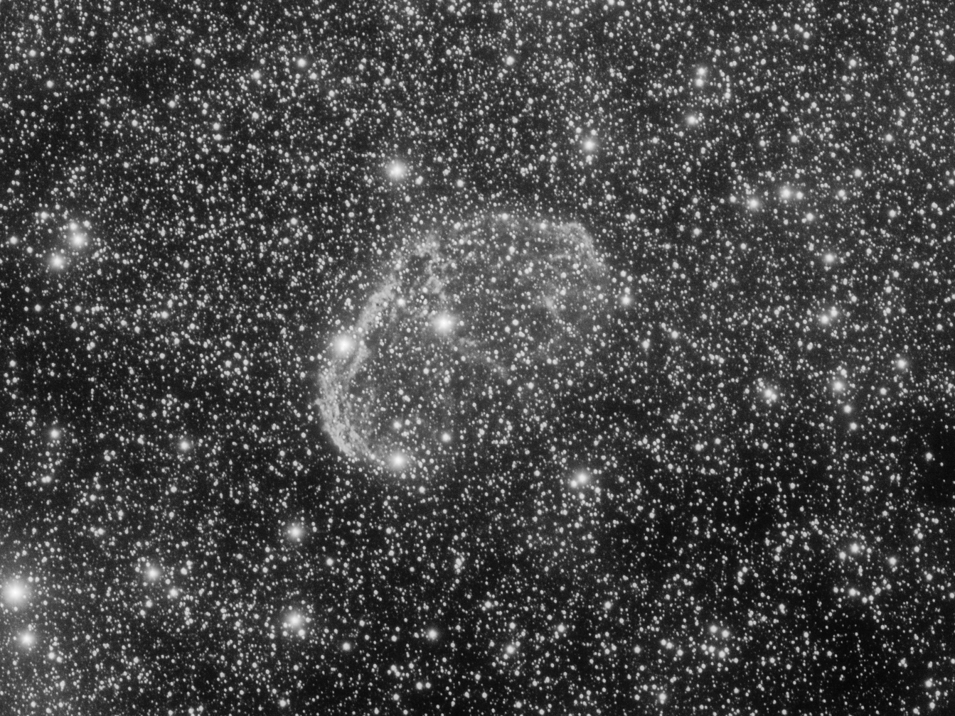 The Crescent Nebula (NGC6888)