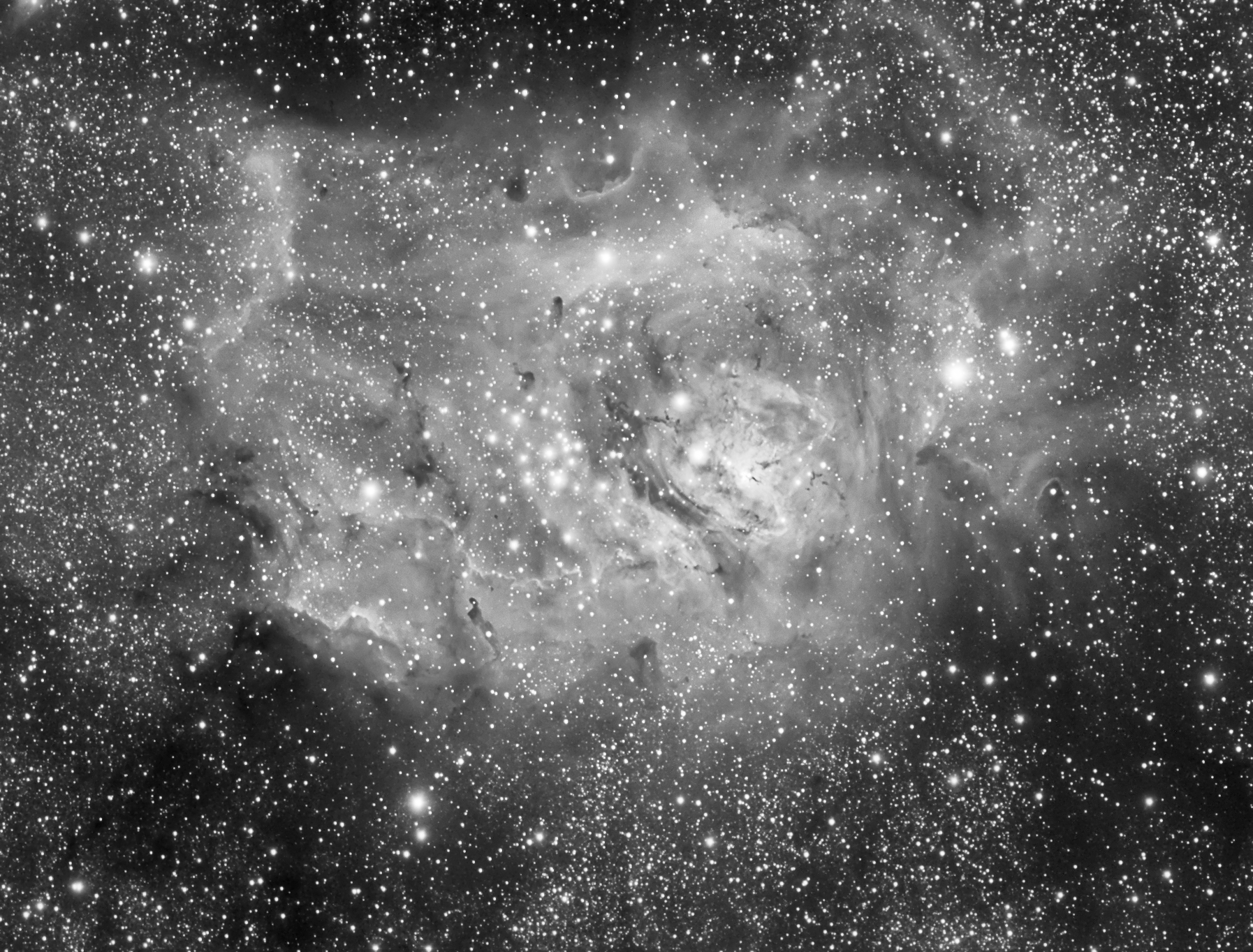 The Lagoon Nebula (M8)