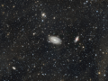 Bode's Nebulae (M81 & M82) Amidst IFN